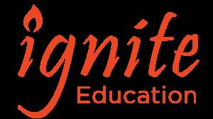 ignite education teacher of the year logo