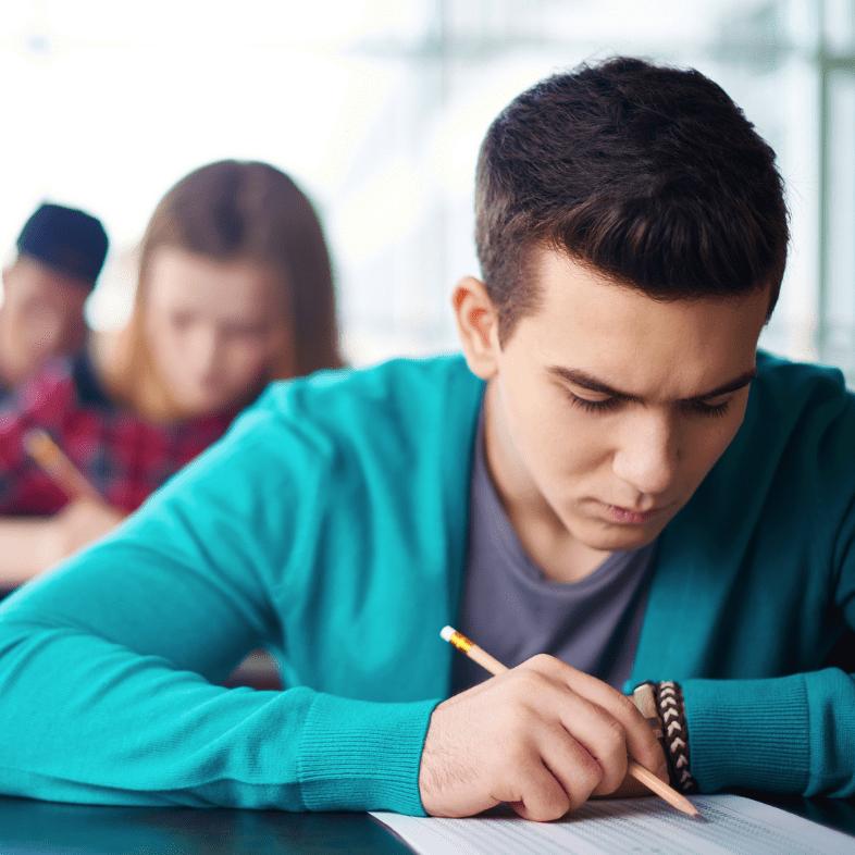 Student take test | ACT prep