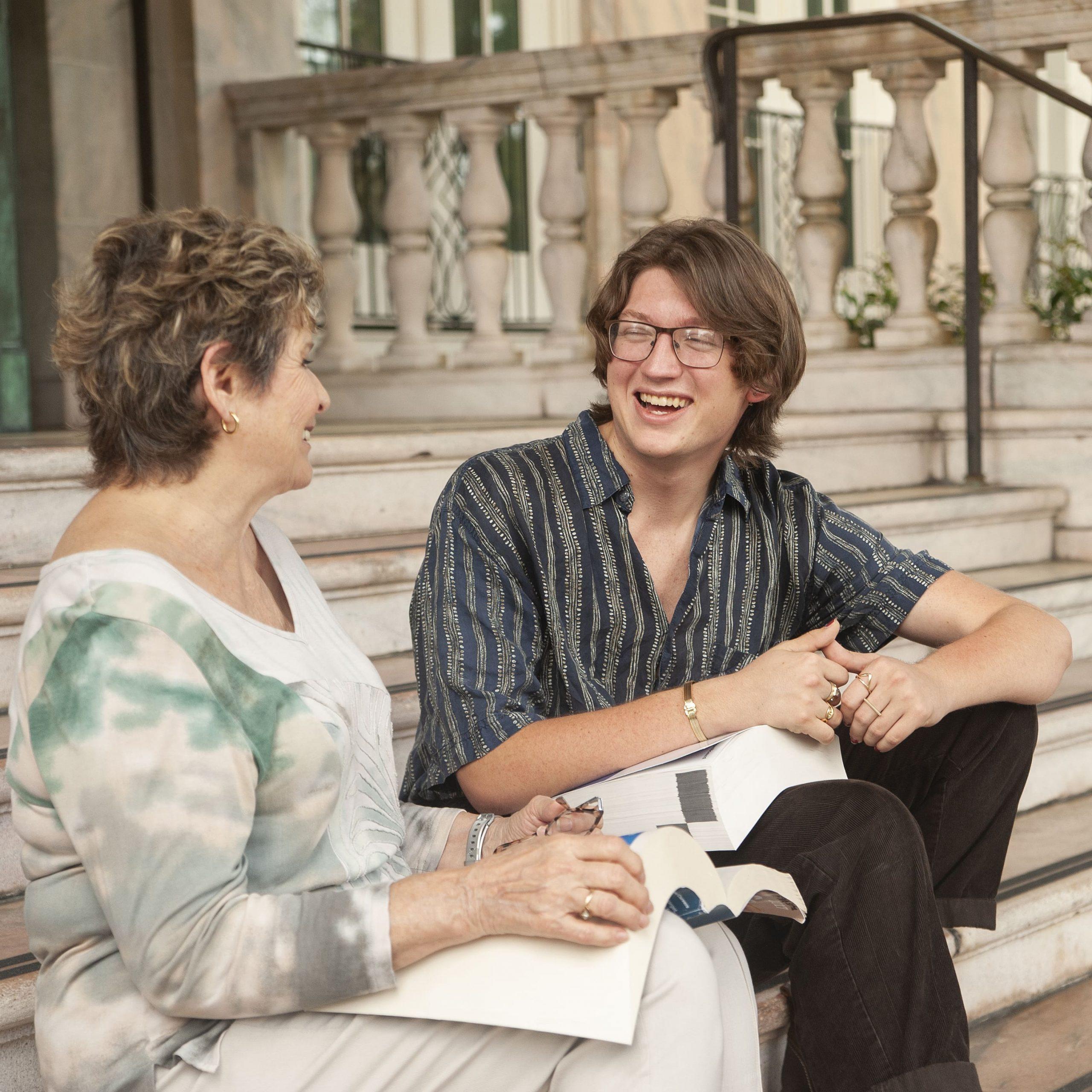 Ben and Helen | Student Mentoring Program