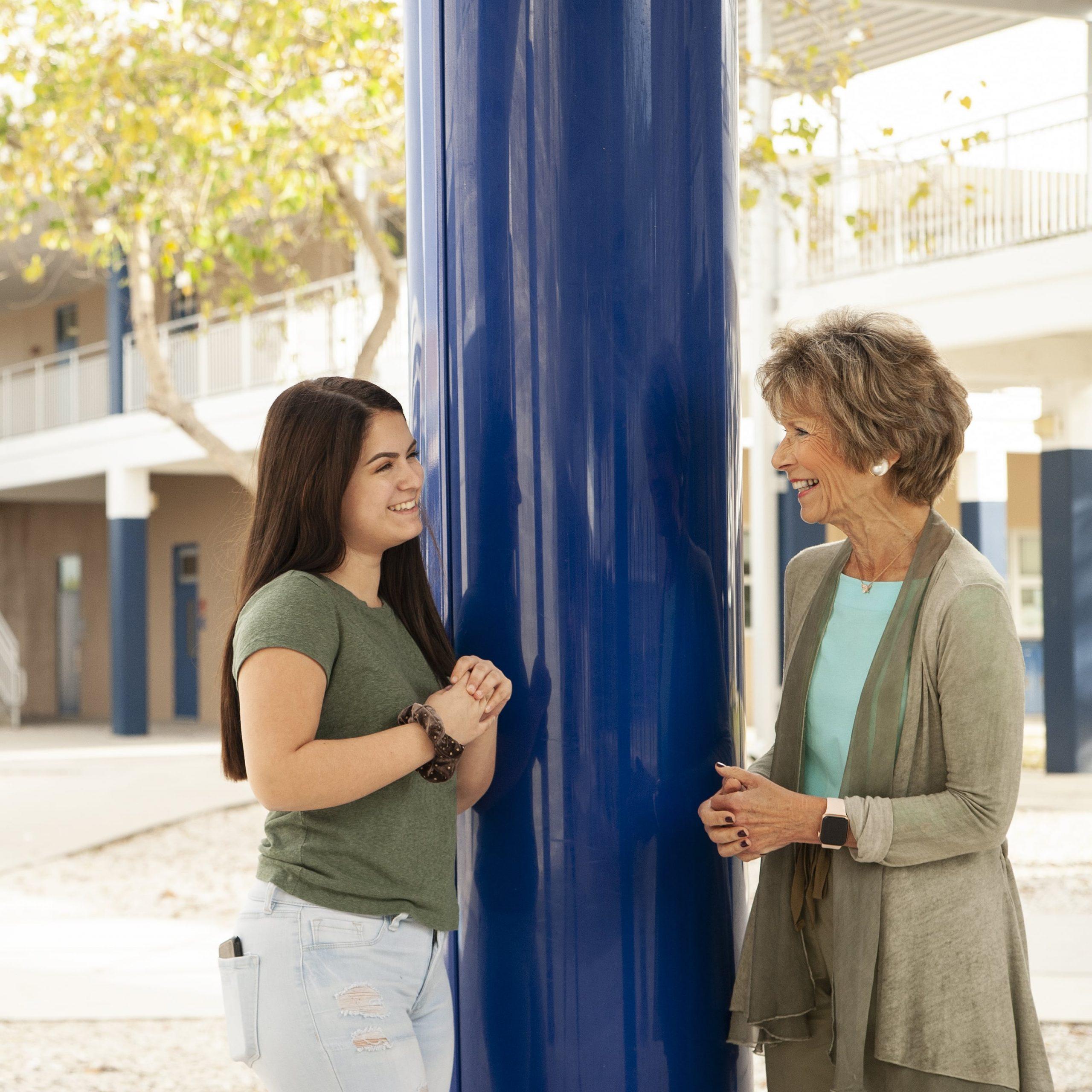 Samantha and Nancy | Student Mentoring Program
