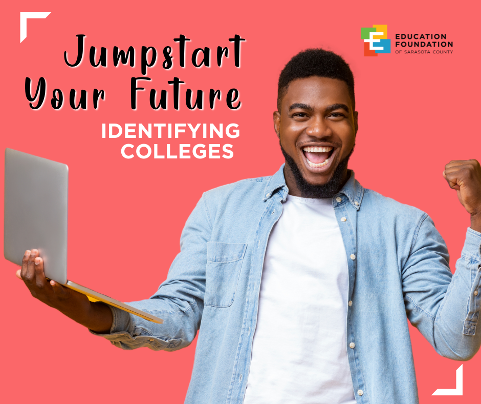 Jumpstart Your Future: Identifying Colleges | Summer Workshop